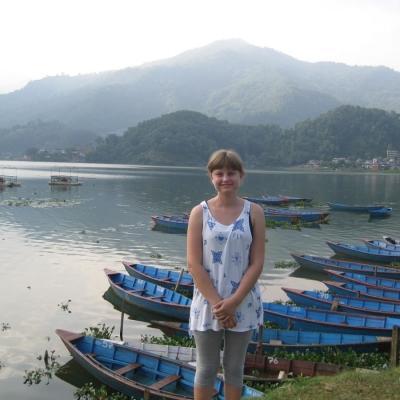 Heidi P in Nepal